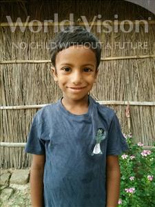 Choose a child to sponsor, like this little boy from Vaishali, Aditya Raj age 7