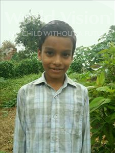 Choose a child to sponsor, like this little boy from Vaishali, Ashutosh age 9