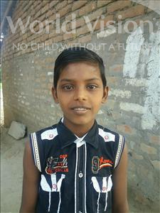 Prince, aged 8, from India, is hoping for a World Vision sponsor