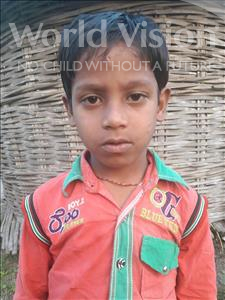 Choose a child to sponsor, like this little boy from Vaishali, Viswajeet age 8