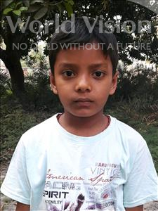 Choose a child to sponsor, like this little boy from Vaishali, Navin Raj age 9