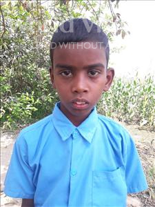 Choose a child to sponsor, like this little boy from Vaishali, Akash age 9
