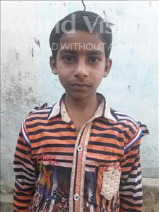 Choose a child to sponsor, like this little boy from Vaishali, Ankush age 8