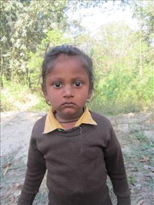 Choose a child to sponsor, like this little boy from Vaishali, Abhimunnu age 4