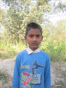 Choose a child to sponsor, like this little boy from Vaishali, Golu age 10