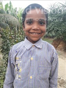Choose a child to sponsor, like this little boy from Vaishali, Ashik age 6