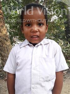 Choose a child to sponsor, like this little boy from Vaishali, Ankush age 4