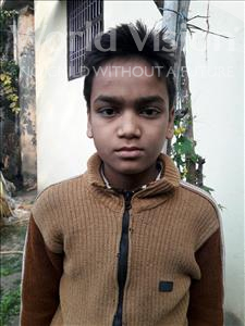 Choose a child to sponsor, like this little boy from Vaishali, Nitish age 10