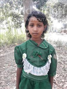 Choose a child to sponsor, like this little girl from Vaishali, Karina age 9