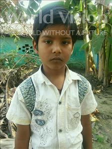 Choose a child to sponsor, like this little boy from Vaishali, Kartik age 6