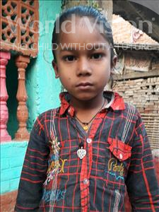 Choose a child to sponsor, like this little boy from Vaishali, Ayush age 7