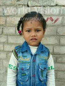 Choose a child to sponsor, like this little boy from Vaishali, Adarsh age 4