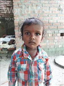 Choose a child to sponsor, like this little boy from Vaishali, Niraj age 3