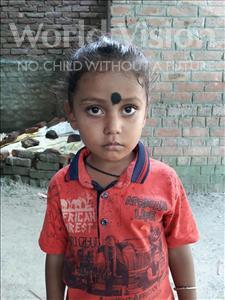 Choose a child to sponsor, like this little boy from Vaishali, Piyush Patel age 3