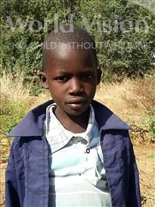 Choose a child to sponsor, like this little boy from Sirba, Oumarou age 9