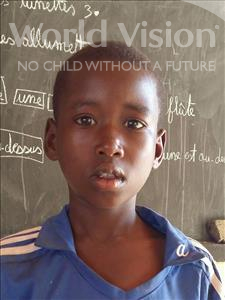 Choose a child to sponsor, like this little boy from Sirba, Hama age 9