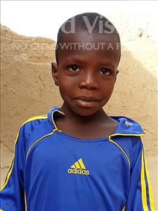 Choose a child to sponsor, like this little boy from Sirba, Abdoul Hakim age 7