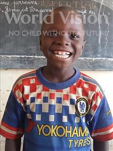 Choose a child to sponsor, like this little boy from Sirba, Abdoulmakiou age 7