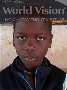 Choose a child to sponsor, like this little boy from Sirba, Abdoulraouf age 8