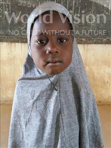 Choose a child to sponsor, like this little girl from Sirba, Faiza age 5