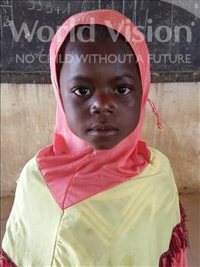 Choose a child to sponsor, like this little girl from Sirba, Nadia age 6
