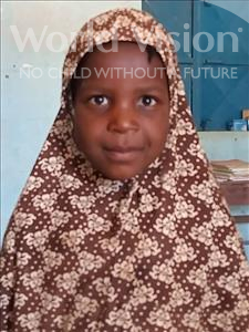 Choose a child to sponsor, like this little girl from Sirba, Aissa age 5