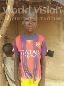 Choose a child to sponsor, like this little boy from Sirba, Abdoul Kader age 11