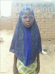 Choose a child to sponsor, like this little girl from Sirba, Aichatou age 8