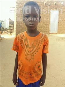 Choose a child to sponsor, like this little boy from Sirba, Adamou age 5