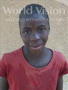 Choose a child to sponsor, like this little boy from Komabangou, Issoufi age 10