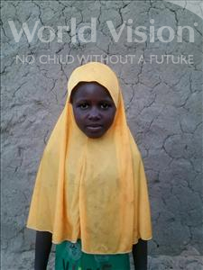 Choose a child to sponsor, like this little girl from Komabangou, Zouera age 10