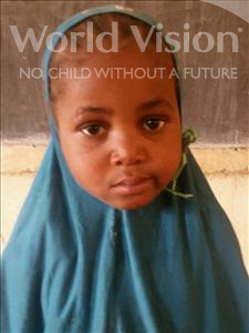Choose a child to sponsor, like this little girl from Komabangou, Anifatou age 6