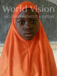 Choose a child to sponsor, like this little girl from Komabangou, Latifatou age 9