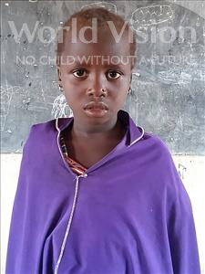 Choose a child to sponsor, like this little girl from Komabangou, Faouzia age 7