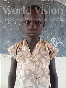 Choose a child to sponsor, like this little boy from Komabangou, Ousseini age 7