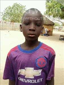 Choose a child to sponsor, like this little boy from Mbella, Moustapha age 8
