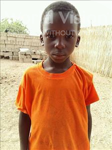 Choose a child to sponsor, like this little boy from Mbella, Ibrahima age 6