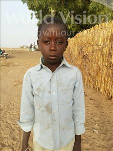 Choose a child to sponsor, like this little boy from Mbella, Ndiame age 8