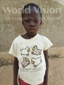 Choose a child to sponsor, like this little boy from Mbella, Ousmane age 9