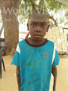 Choose a child to sponsor, like this little boy from Mbella, Alassane age 7