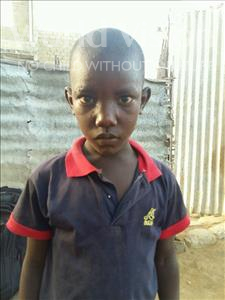 Choose a child to sponsor, like this little boy from Mbella, Mohameth age 7