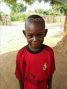 Choose a child to sponsor, like this little boy from Mbella, Mamadou age 6