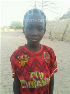 Choose a child to sponsor, like this little boy from Mbella, Ousmane age 6