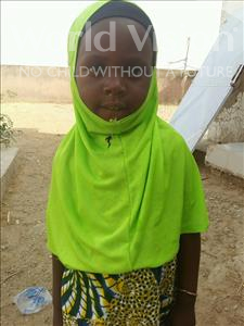 Choose a child to sponsor, like this little girl from Mbella, Tening age 5