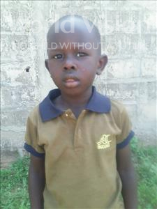 Choose a child to sponsor, like this little boy from Mbella, Ahmasiga age 4