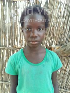 Choose a child to sponsor, like this little girl from Mbella, Awa age 6