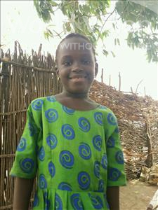 Choose a child to sponsor, like this little girl from Mbella, Amy age 6