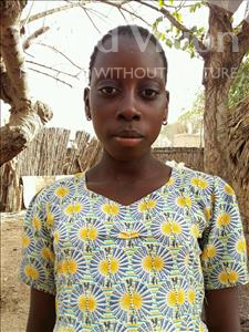 Choose a child to sponsor, like this little girl from Loul, Marie age 12