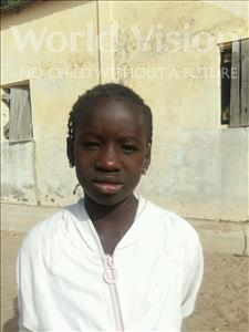Choose a child to sponsor, like this little girl from Loul, Ndeye Seynabou age 9