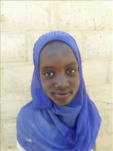 Choose a child to sponsor, like this little girl from Loul, Sokhna Tening age 11